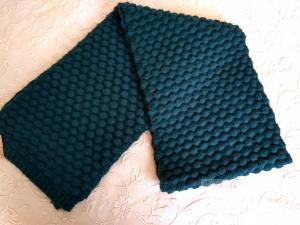 Изумрудно-зеленый теплый шарф Accessorize новый
