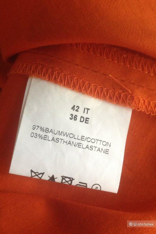 Платье колор-блок Valerie Perrini (Италия).  Размер 42 (it) на 42-44