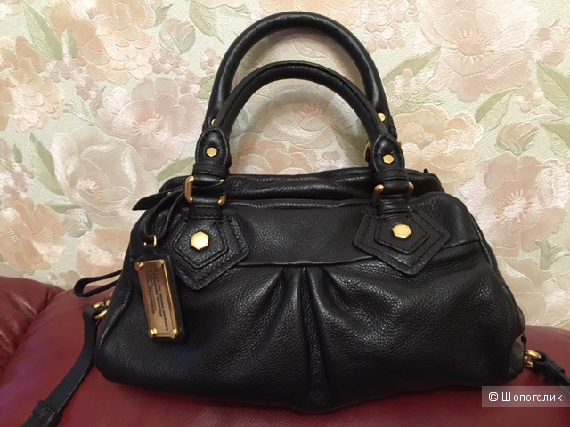 Новая сумка Marc by Marc Jacobs Classic Q Baby Groovee Leather Satchel