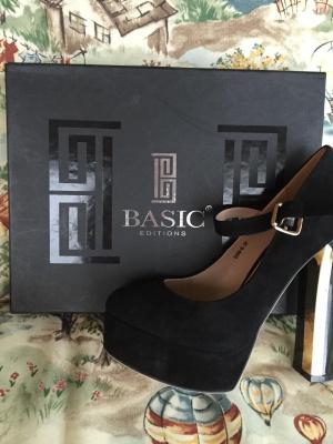 Туфли новые Basic,замша, 37 размер