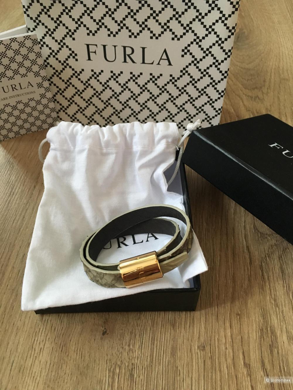 Кожаный браслет Furla