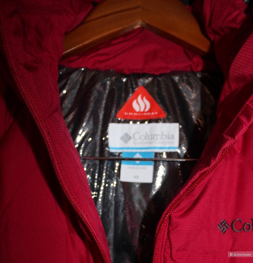 Новая пуховая куртка Columbia/xs