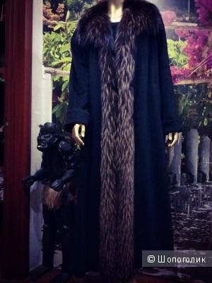 Роскошное итальянское пальто премиум класса. Кашемир. 48-54