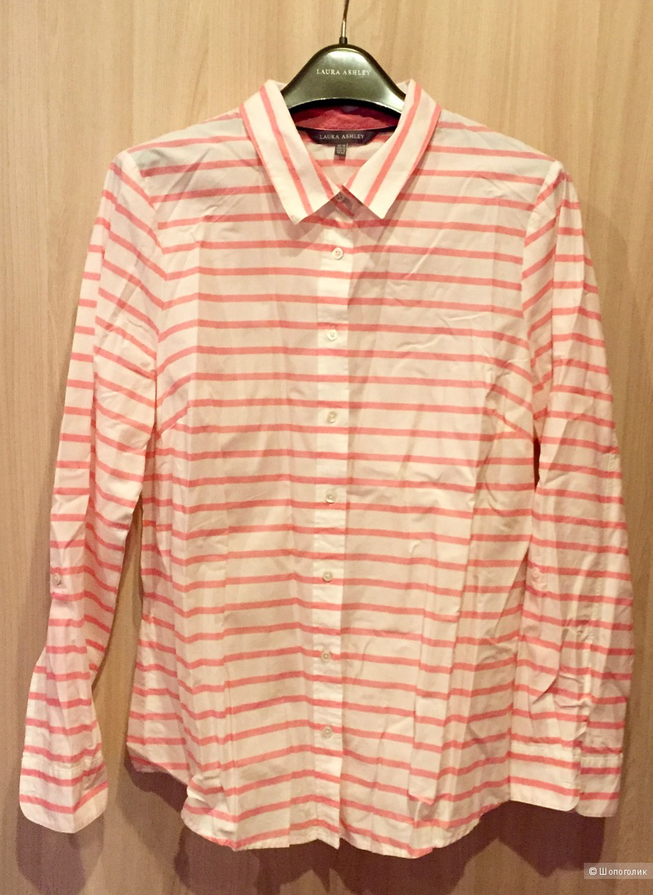 Новая рубашка в полоску Laura Ashley (EU42)