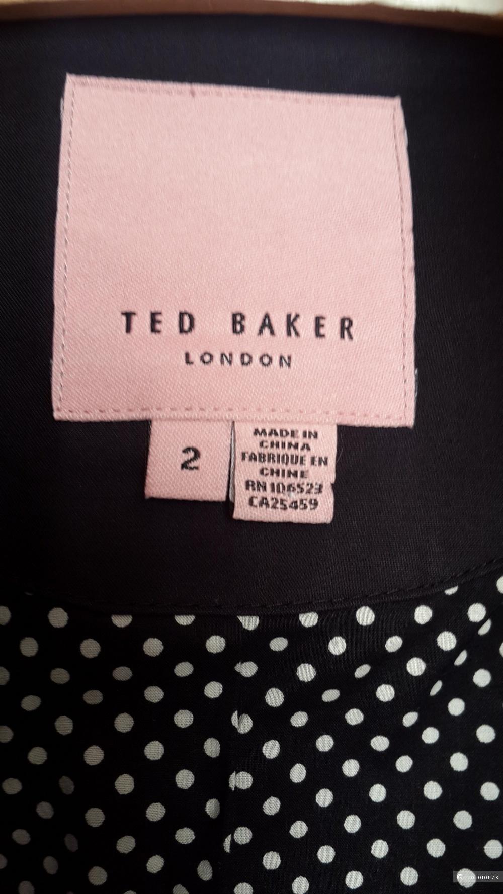Плащ бренд Ted Baker размер 2, новый, без бирок