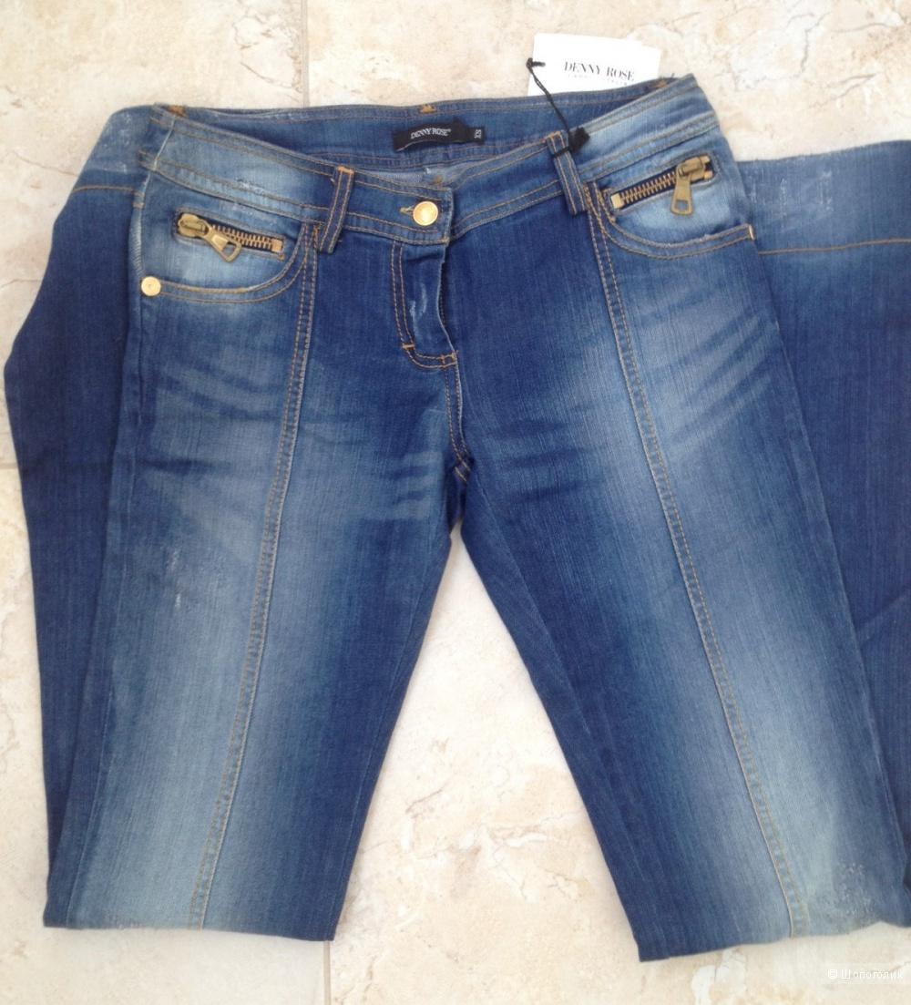 Новые джинсы-клеш Denny Rose. XS.
