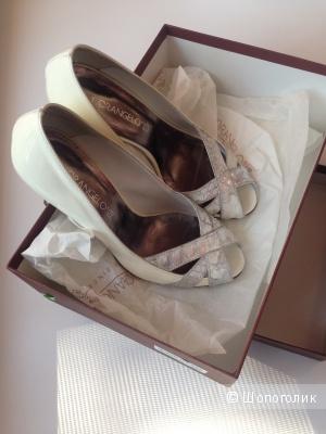 Туфли Florangelo 36 размер белые кожаные