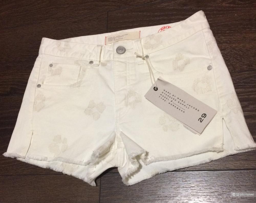 Новые джинсовые шорты Marc by Marc Jacobs, 29 р-р