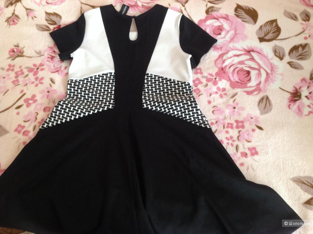 Очаровательное маленькое чёрное платье для юной модницы!