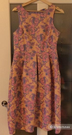 Жаккардовое платье ASOS 12UK на полный 48