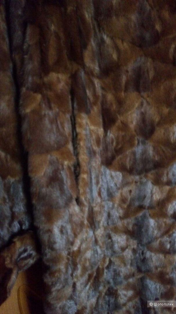 Шуба норковая большого размера