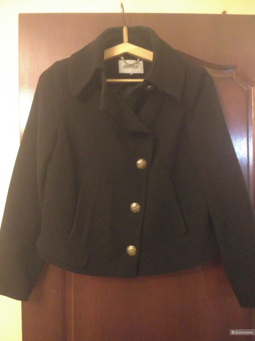 Короткое пальто Dekka, 48р-р