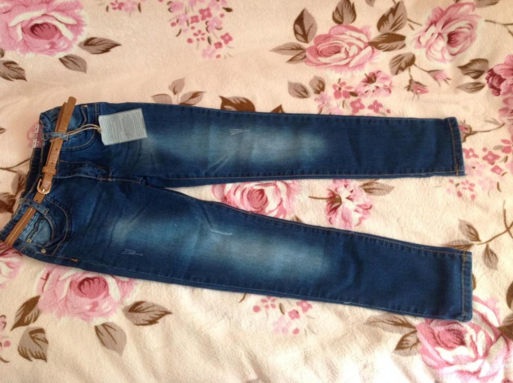 Новые джинсы на девочку оригинал Zara!