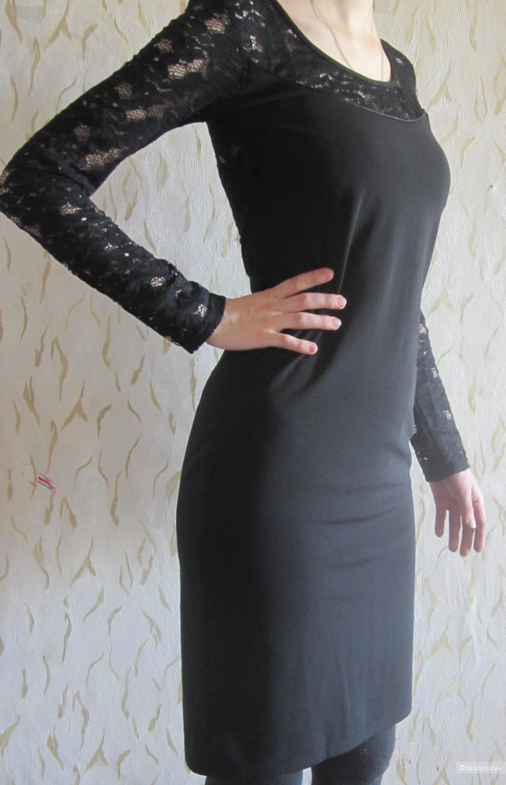 Маленькое чёрное платье, вечернее платье, новое,  с этикеткой