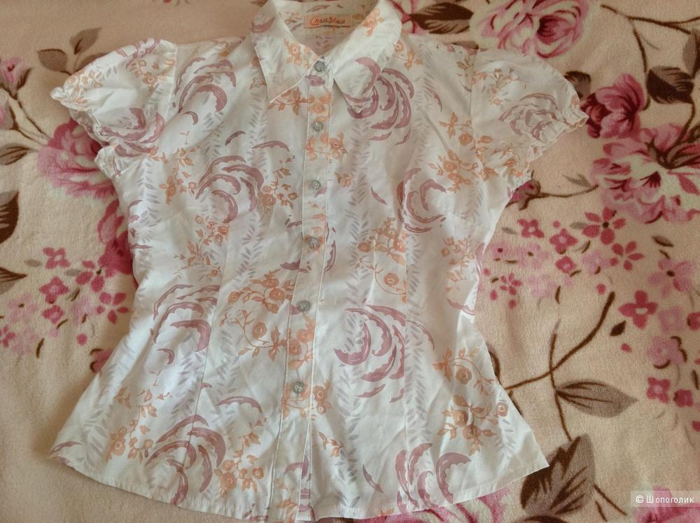 Невероятно легкая и нежная блузка 42/44 размера!
