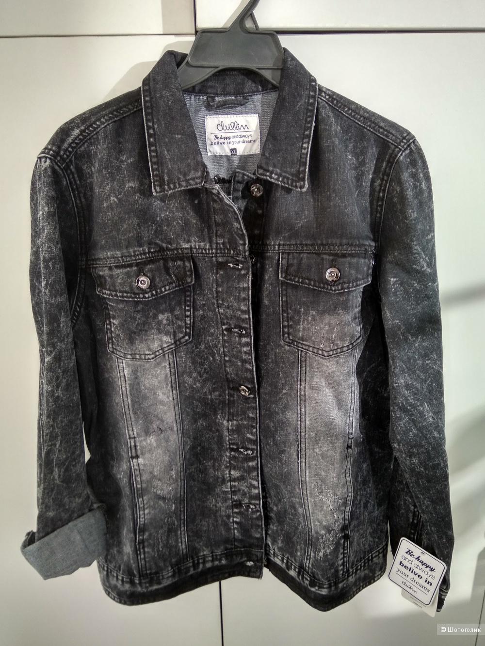 Новая джинсовая куртка Cropp размер  xl