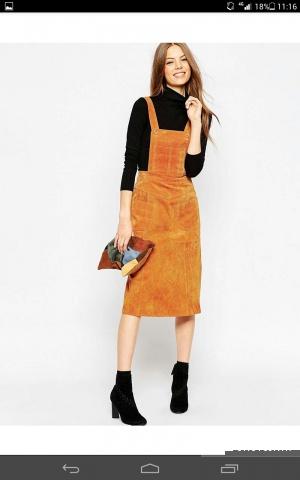 Продажа новой замшевой юбки