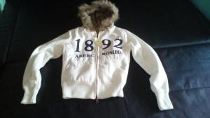 Толстовка (куртка) с мехом Abercrombie р. 42