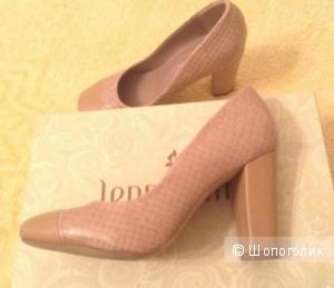 Бежевые туфли лодочки ссс Jenny Fairy 37 р-р