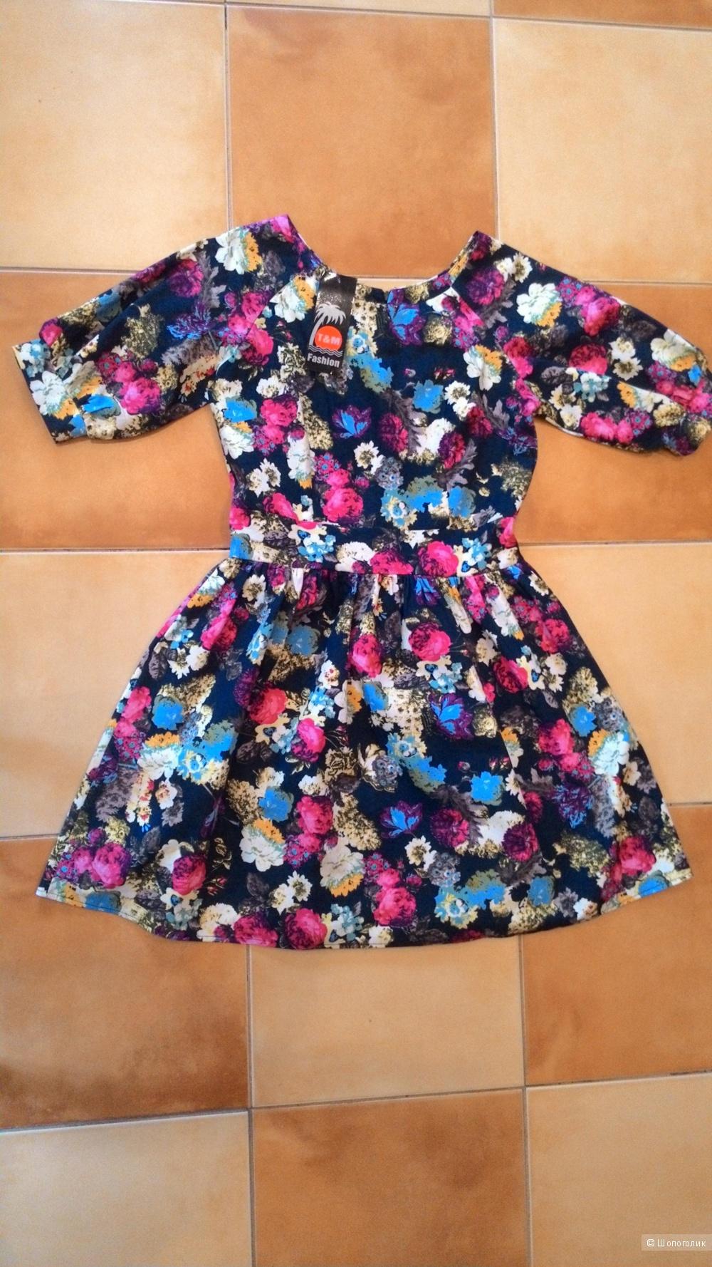 Новое платье T&M fashion 46 размер.