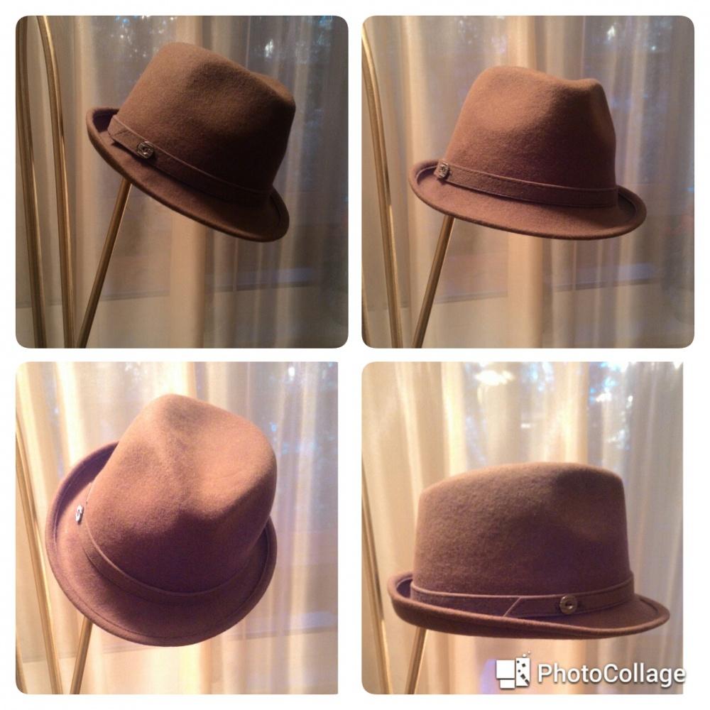 Женская фетровая шляпа Трилби 5 цветов