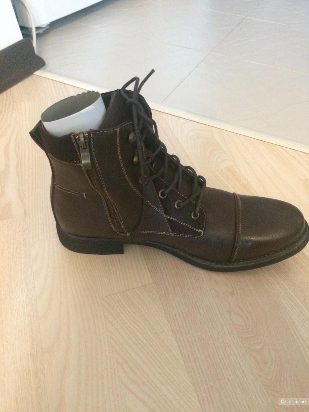 Новые кожаные Steve Madden из Америки