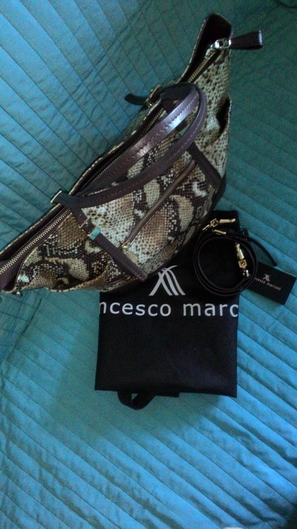 Сумка кожаная Francesco Marconi (Италия)