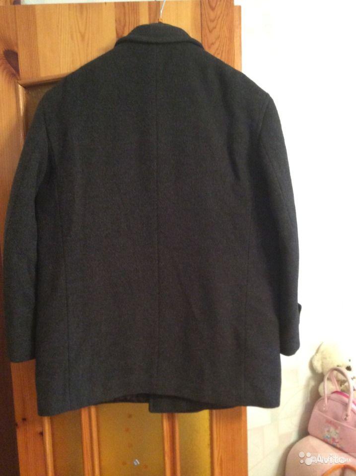 Зимнее пальто мужское бу