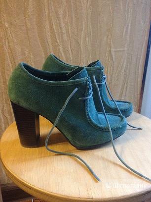 Замшевые ботинки Ralph Lauren
