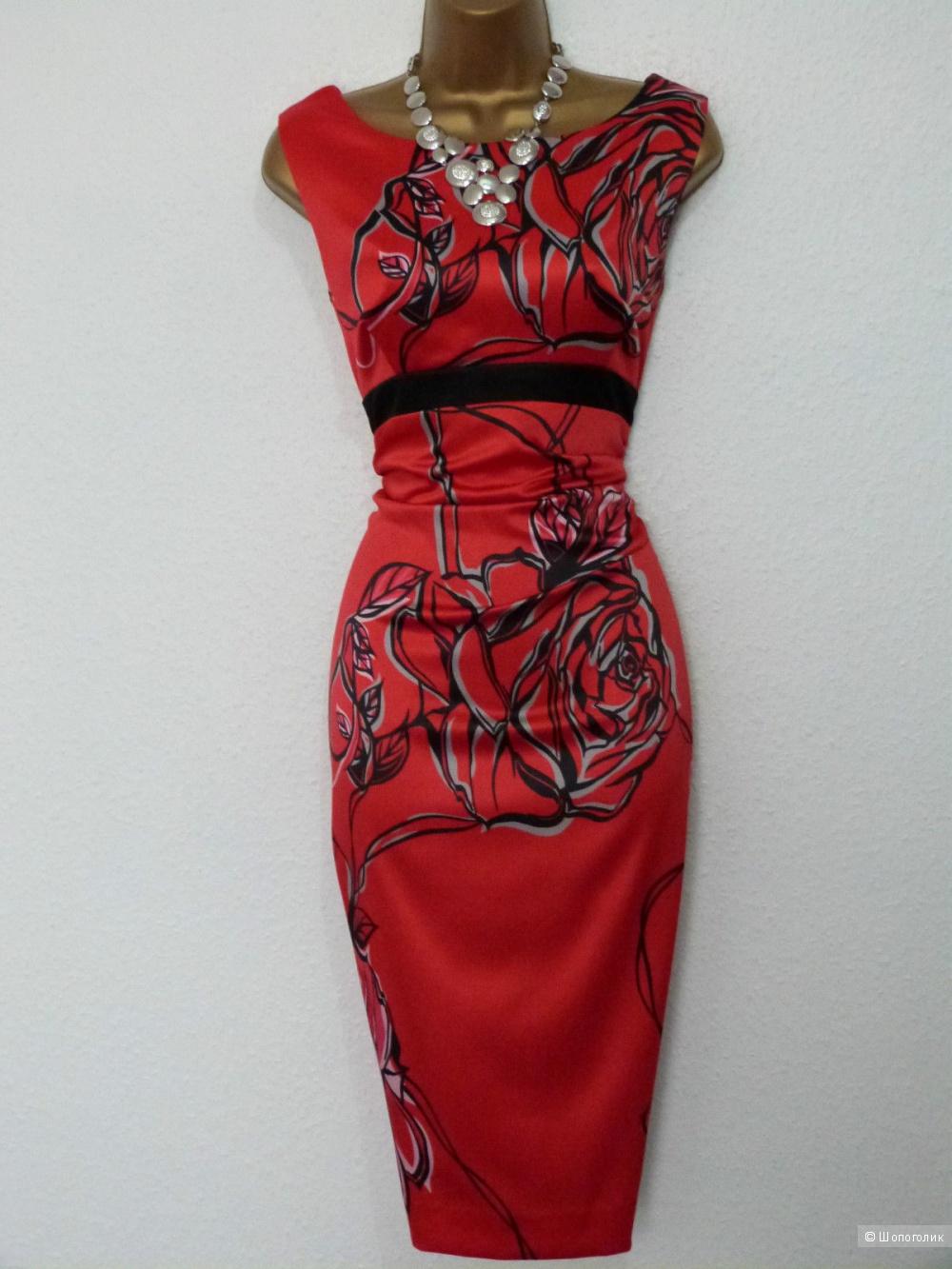 Продам шикарное красное платье Karen Millen