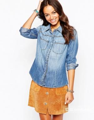 Женская джинсовая рубашка Esprit