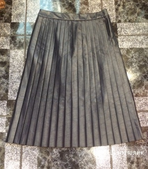 Новая юбка синего цвета  Италия
