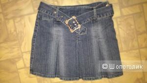 Джинсовая юбочка Hiver jeans 26 р. (42-44р.)