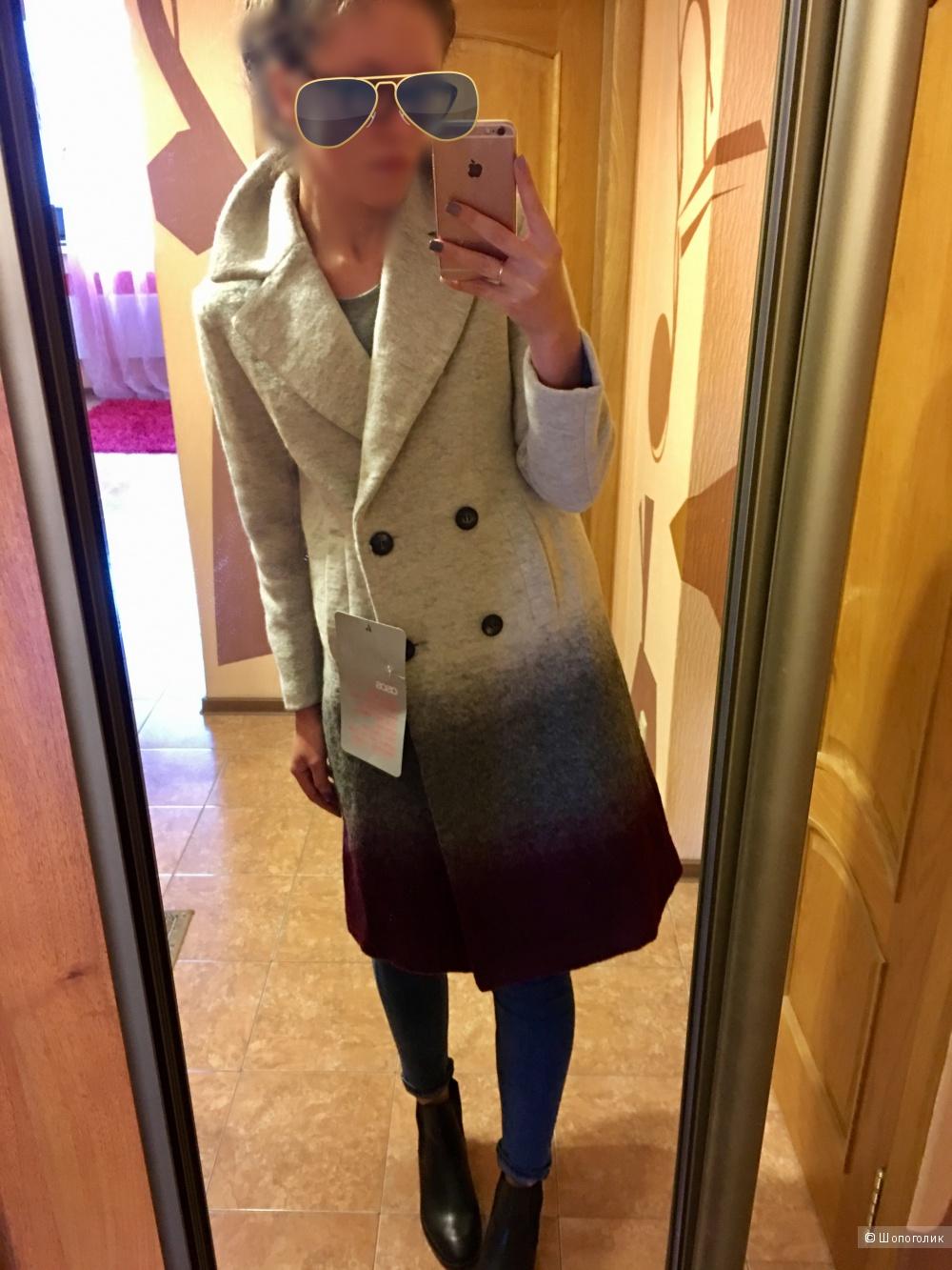 Продаю теплое пальто с ASOS, 40 размер евро (44-46 рос)! Все этикетки сохранены, абсолютно новое, не ношенное.
