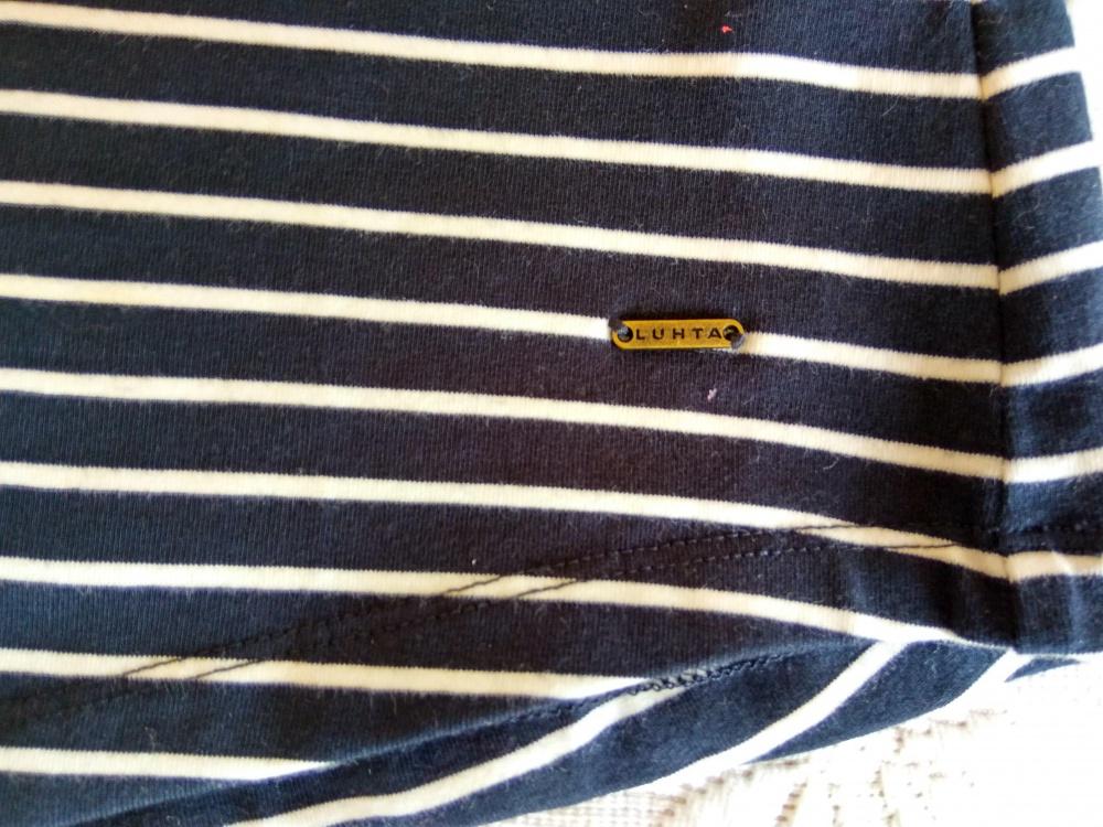 LUHTA  хлопоковая полосатая кофточка  46 разм. ( М)
