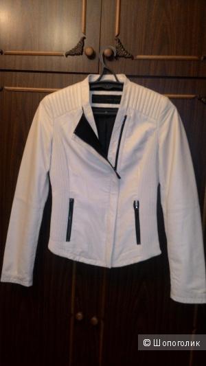 Куртка из натуральной кожи Zara размер S