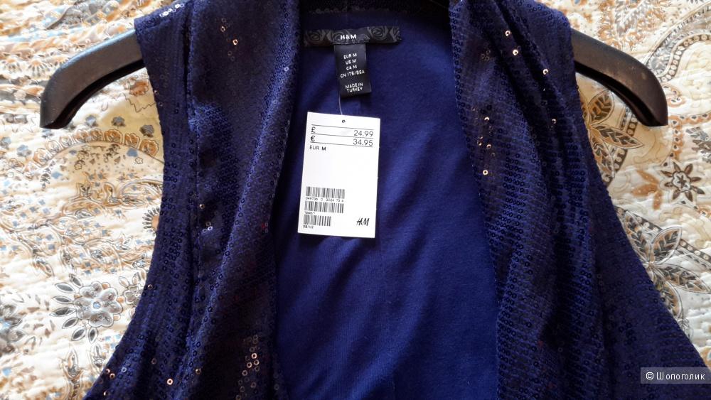 Жилет нарядный H&M новый размер М