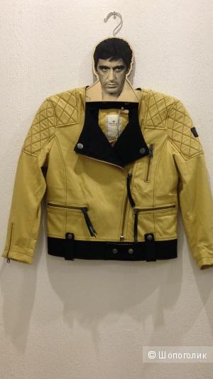 Новая кожаная куртка REPLAY.