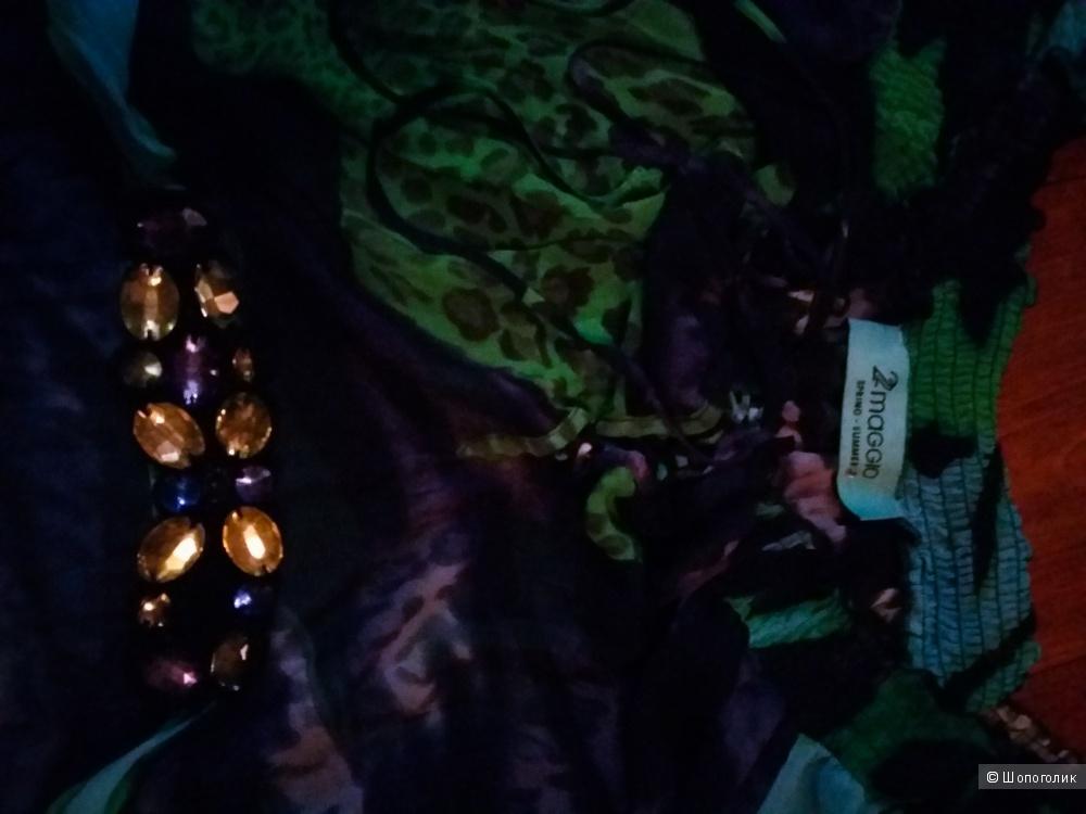 "Роскошная туника-блузка-платье. Бренд ""22 Maggio"". Италия. Оригинал."