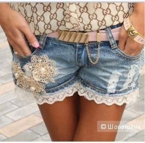 Джинсовые шорты ТМ DRESS CODE Елена Покалицына шорты джинс