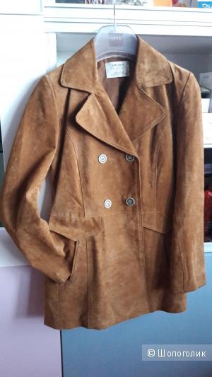 Пиджак замшевый Zara