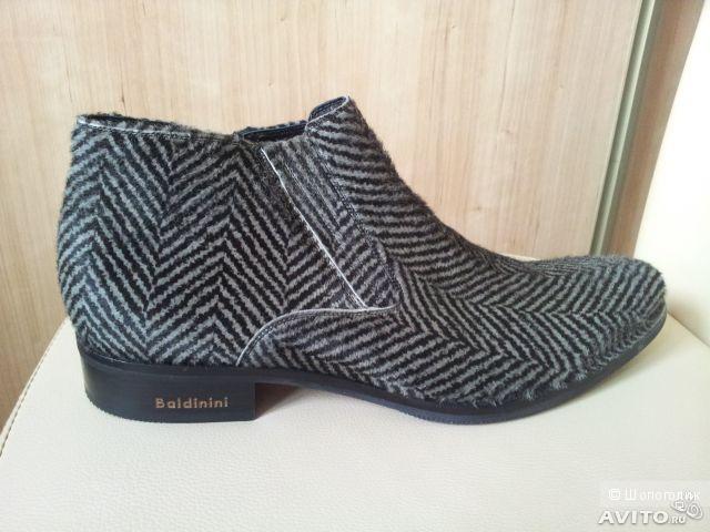 Новые мужские ботинки Baldinini