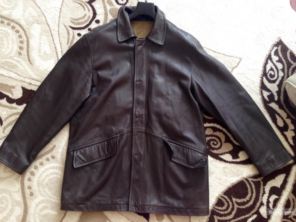 Куртка кожаная Massimo Dutti