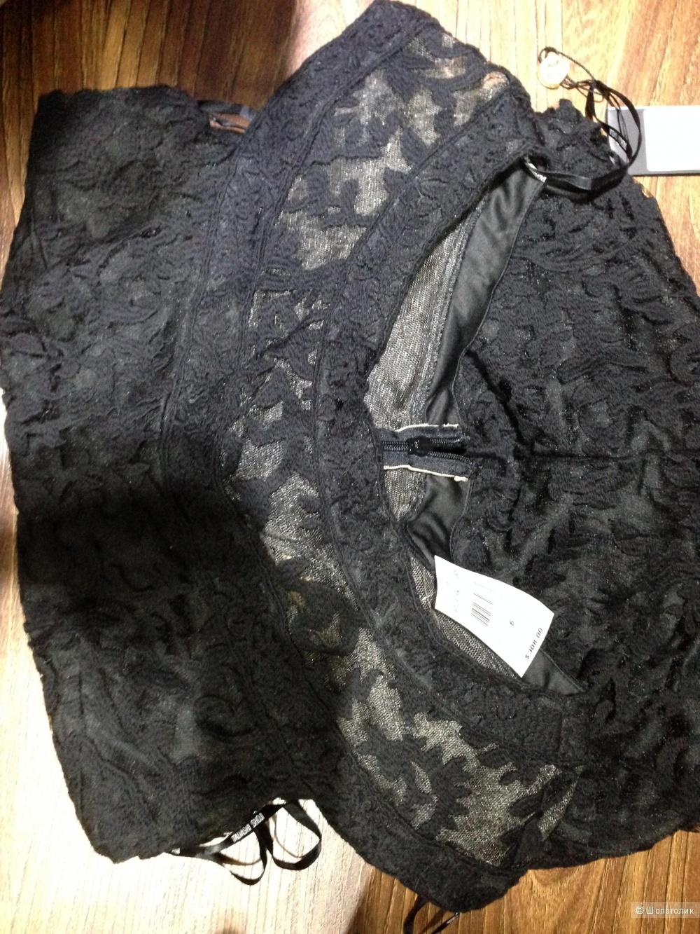Шикарное платье от Tadashi Shoji из ажурного кружева р.46 и 48 с ценником 308$