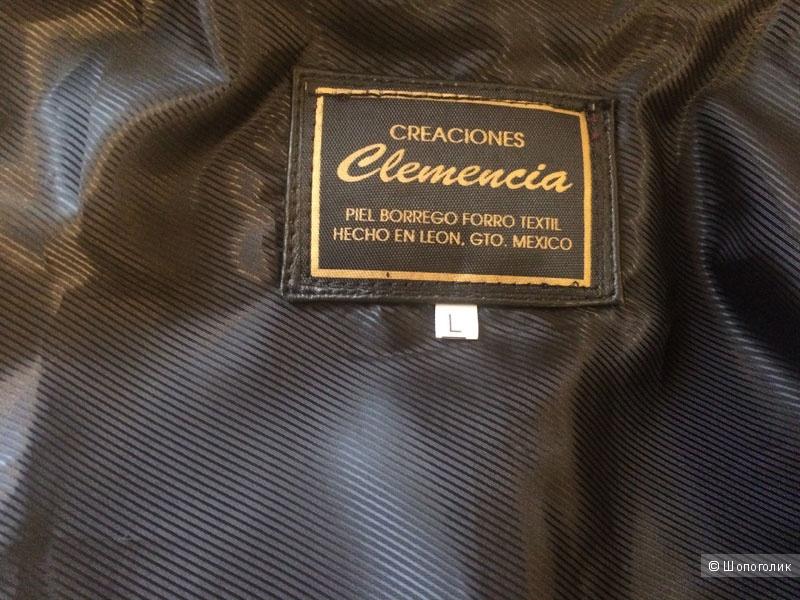 Куртка натуральная кожа чёрная, 48-50 (L)