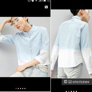 Рубашка новая, стильная, размер М, известный азиатский бренд