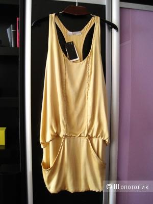Платье шелковое в стиле 20-х годов