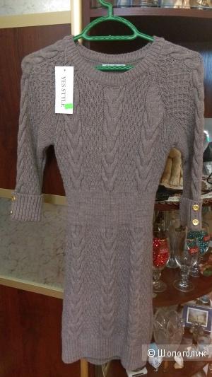Новое вязаное платье YES STYLE