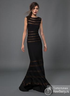 Шикарное платье от Tadashi Shoji  р. 44 с ценником 300$