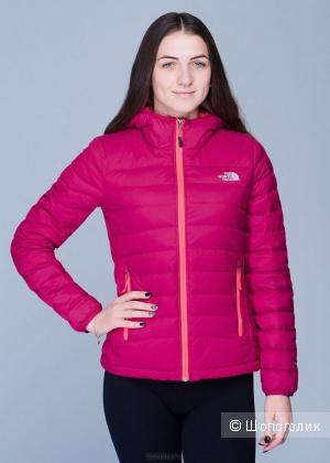 Куртка утепленная The North Face, фуксия, XS, новая